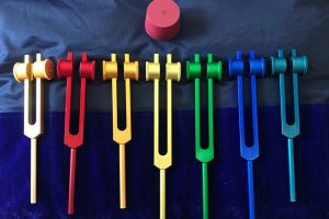 Tuning Forks (Used to locate disturbances in the energy field that surround us)
