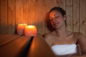 Far Infrared Sauna (increases oxygen flow and circulation)