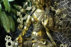 White Tara Statue, Goddess of Love & Healing